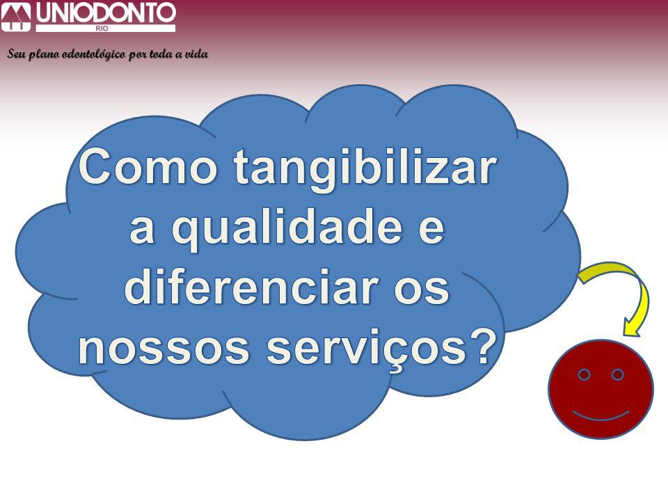 Como tangibilizar a qualidade e diferenciar os nossos serviços