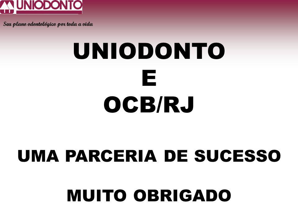 UMA PARCERIA DE SUCESSO