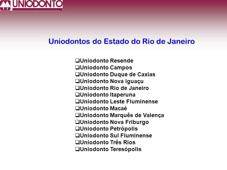 Uniodontos do Estado do Rio de Janeiro