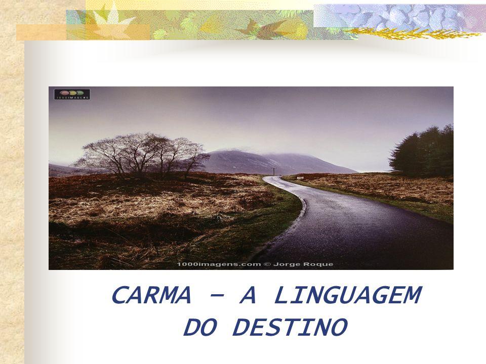 CARMA – A LINGUAGEM DO DESTINO