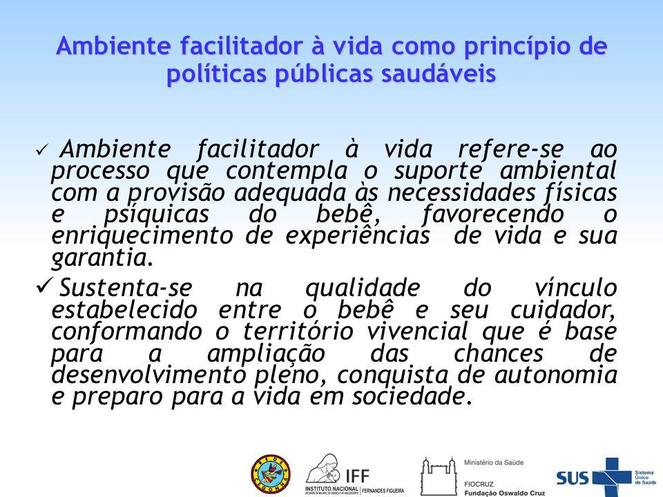 Ambiente facilitador à vida como princípio de políticas públicas saudáveis