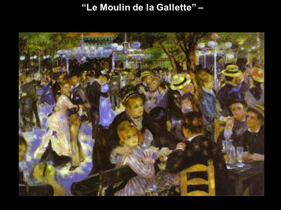 Le Moulin de la Gallette –