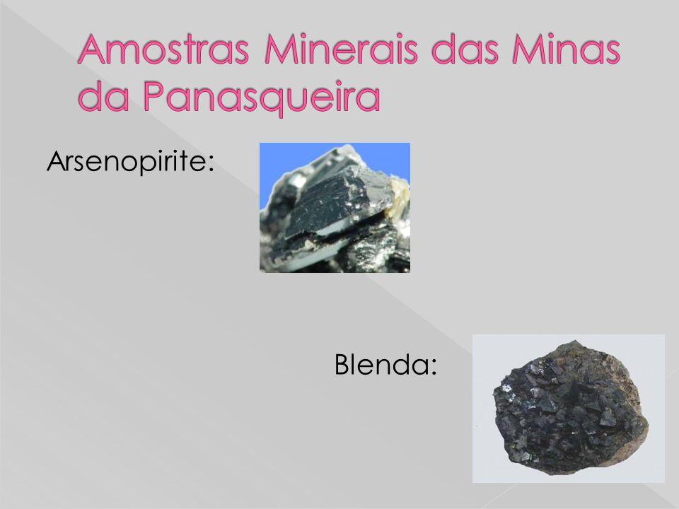Amostras Minerais das Minas da Panasqueira