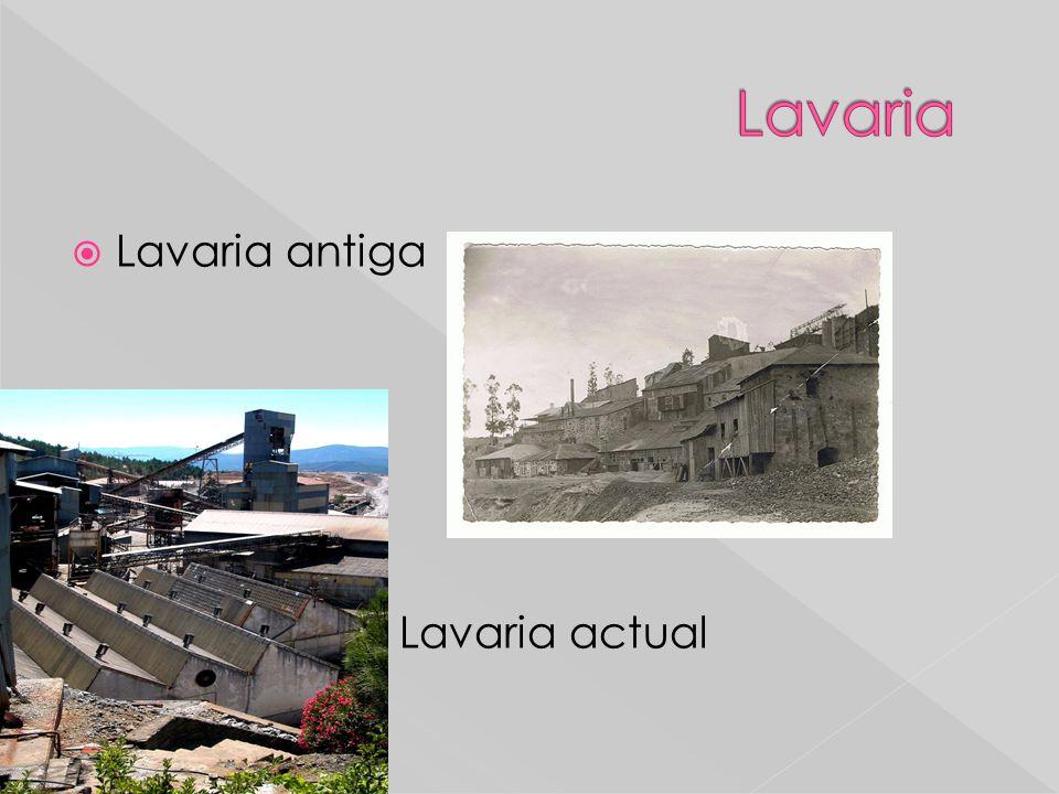 Lavaria Lavaria antiga Lavaria actual