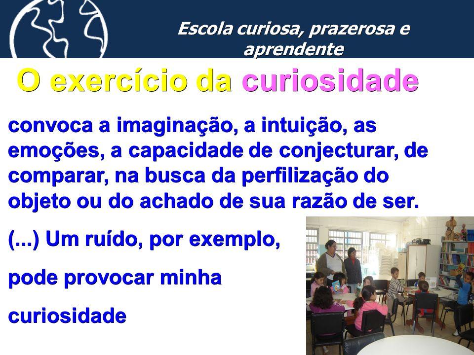 Escola curiosa, prazerosa e aprendente O exercício da curiosidade