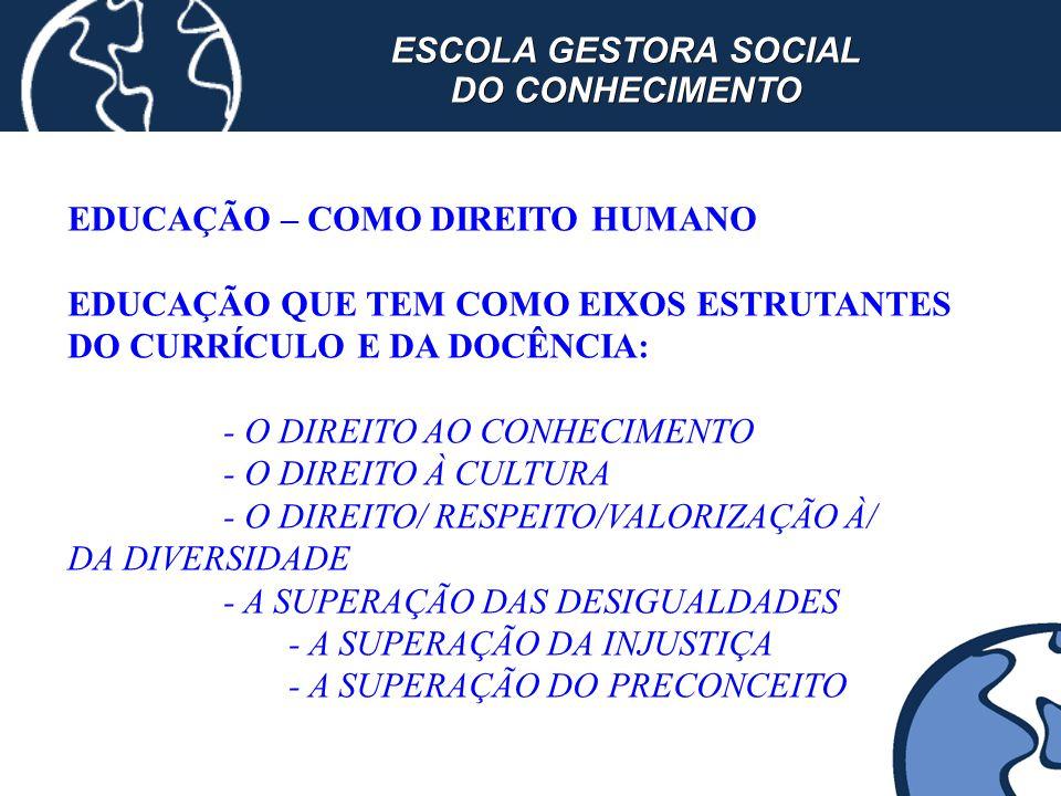ESCOLA GESTORA SOCIAL DO CONHECIMENTO
