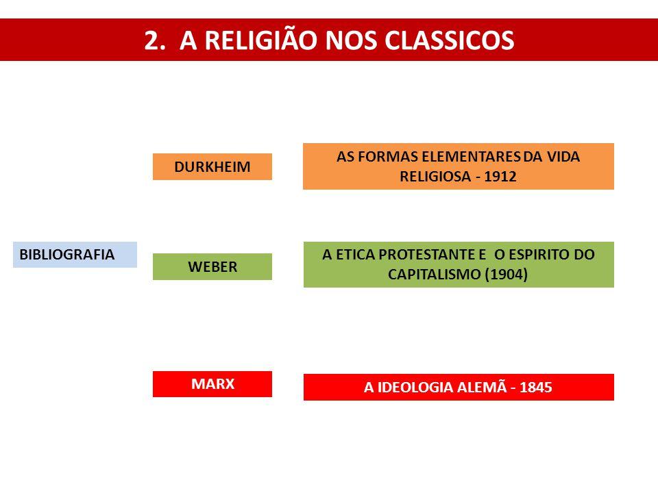 2. A RELIGIÃO NOS CLASSICOS