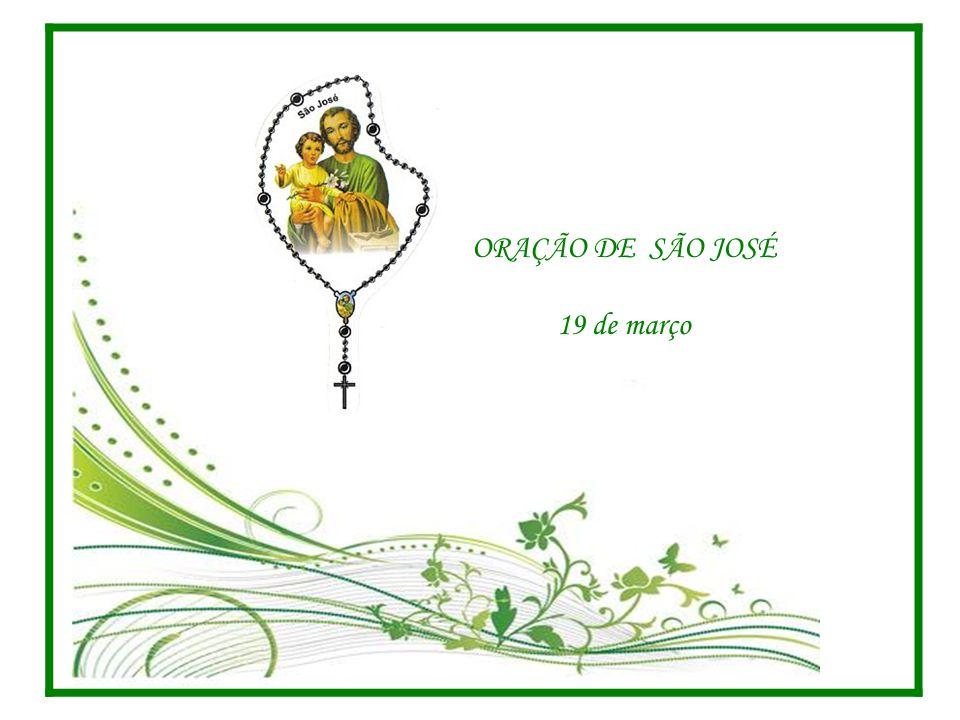 ORAÇÃO DE SÃO JOSÉ 19 de março