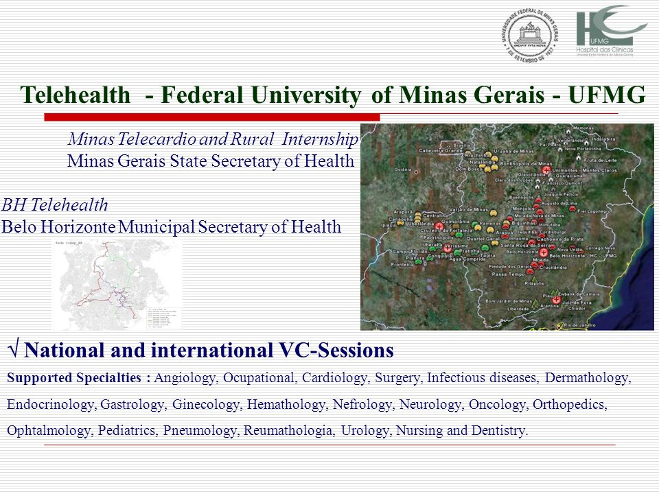Telehealth - Federal University of Minas Gerais - UFMG