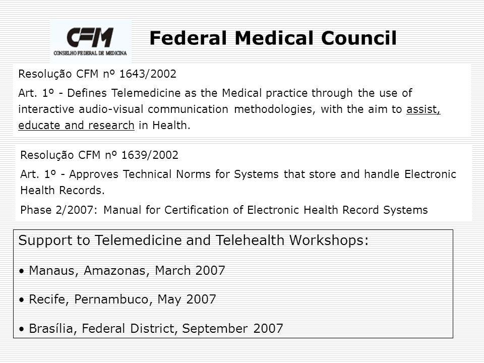 Federal Medical Council