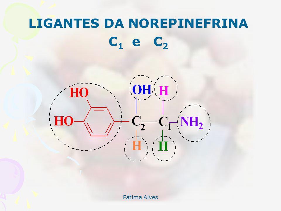 LIGANTES DA NOREPINEFRINA C1 e C2