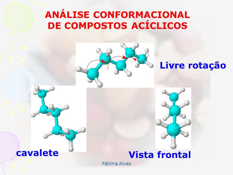 ANÁLISE CONFORMACIONAL DE COMPOSTOS ACÍCLICOS