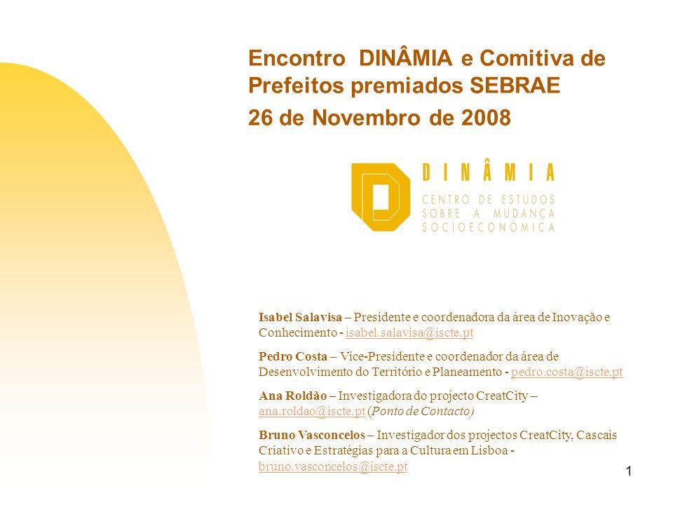 Encontro DINÂMIA e Comitiva de Prefeitos premiados SEBRAE