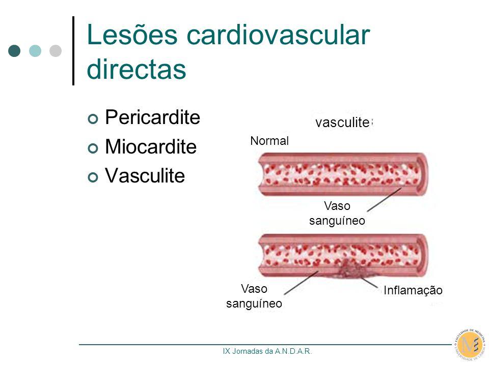 Lesões cardiovascular directas