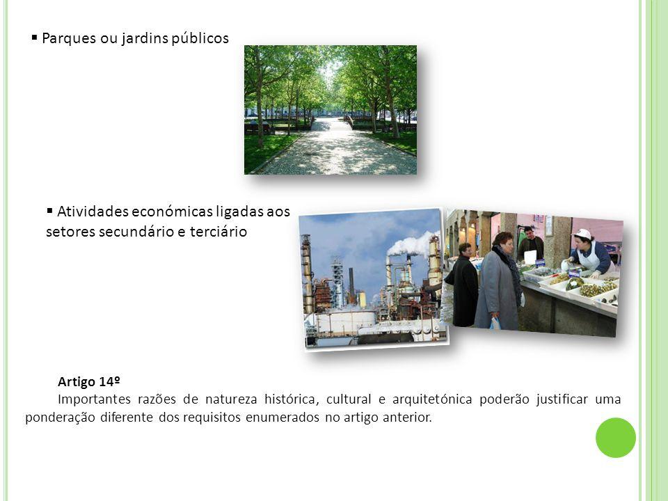 Parques ou jardins públicos