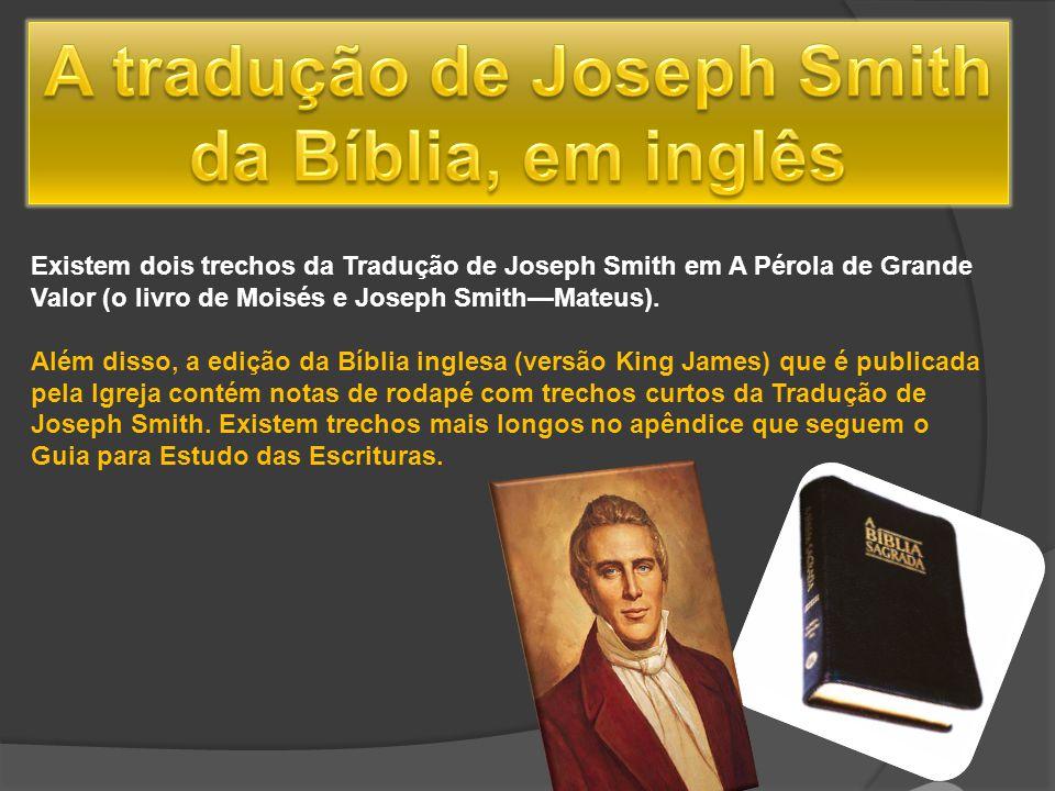 A tradução de Joseph Smith