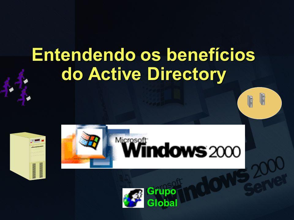 Entendendo os benefícios do Active Directory