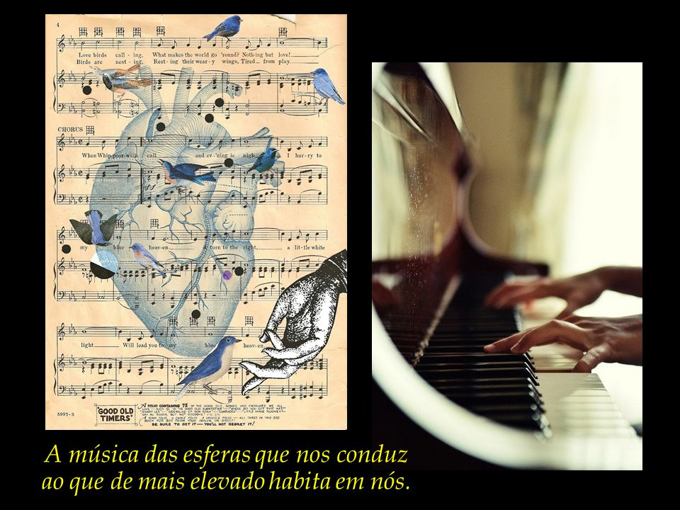A música das esferas que nos conduz