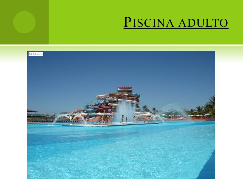 Piscina adulto