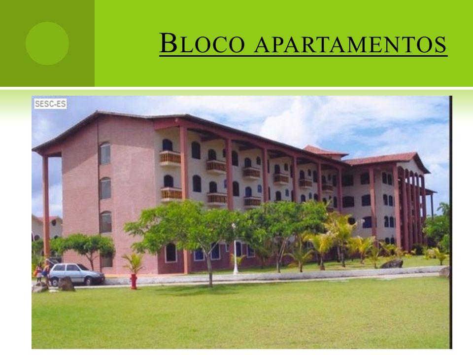 Bloco apartamentos