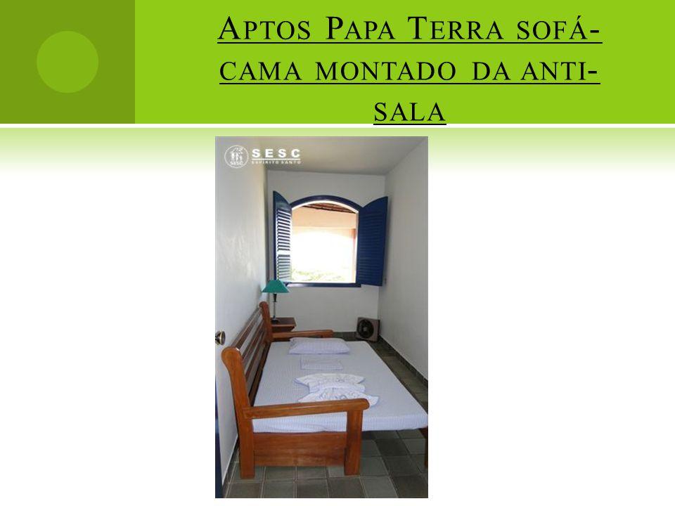 Aptos Papa Terra sofá-cama montado da anti-sala