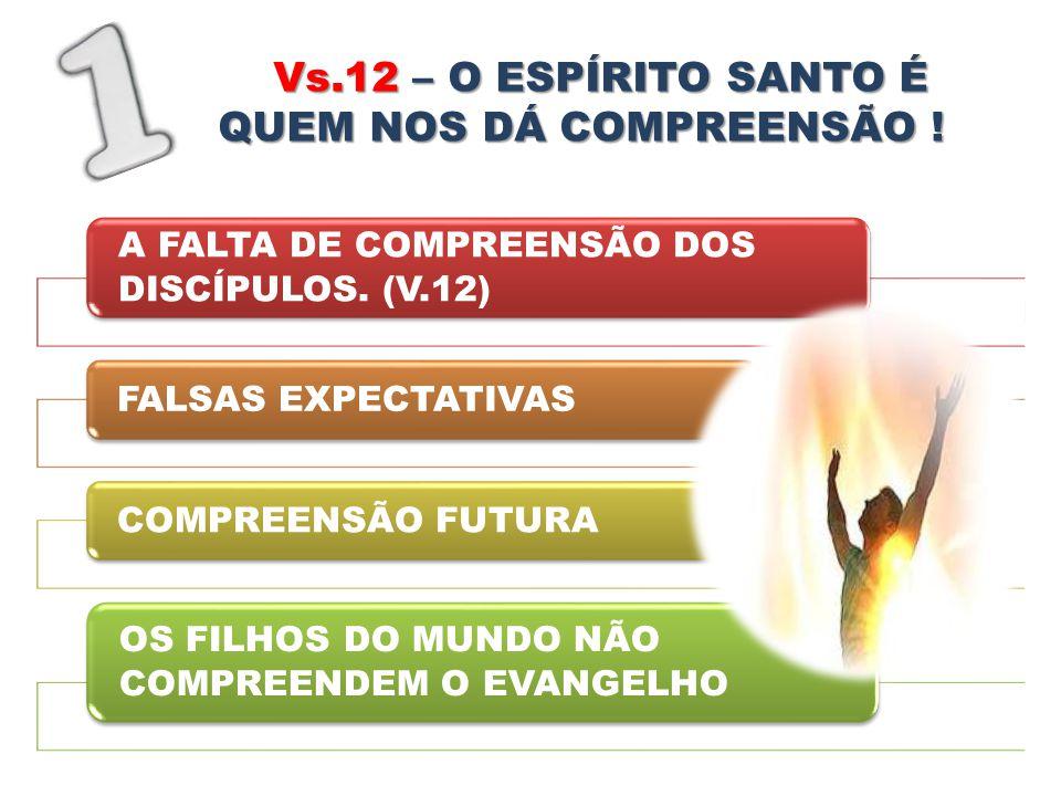 QUEM NOS DÁ COMPREENSÃO !