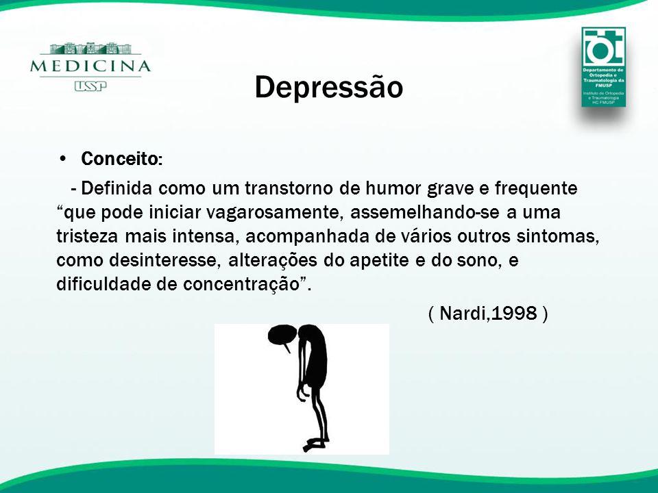 Depressão Conceito: