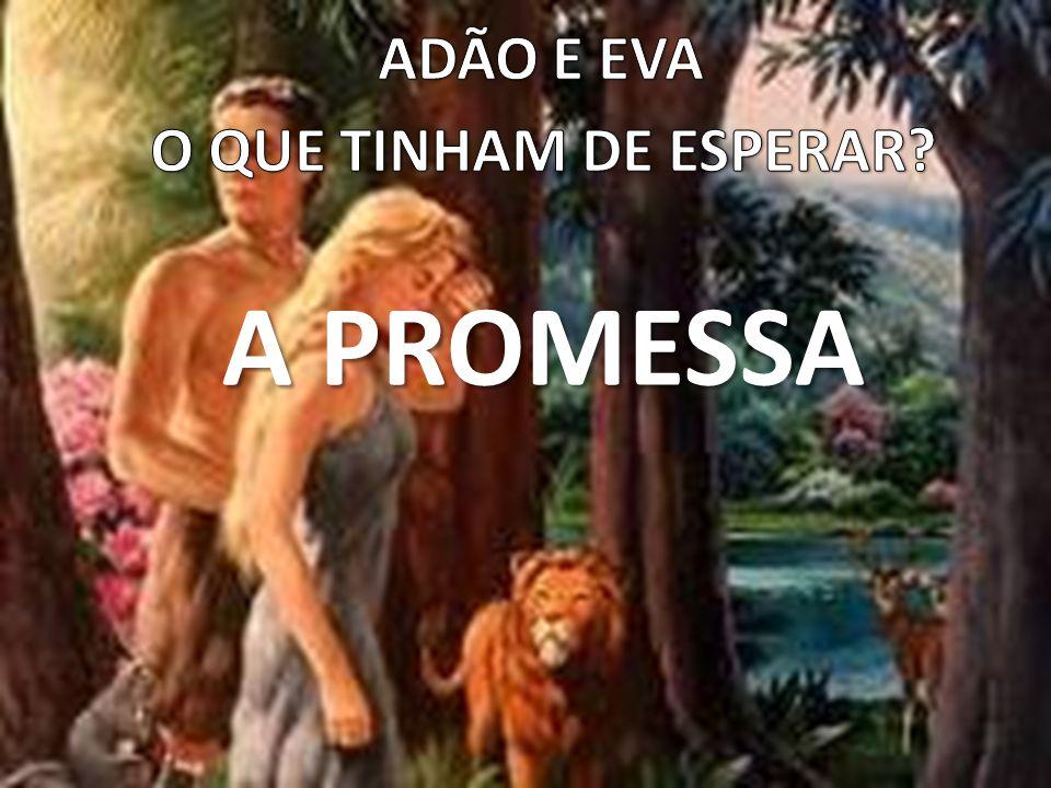 ADÃO E EVA O QUE TINHAM DE ESPERAR A PROMESSA