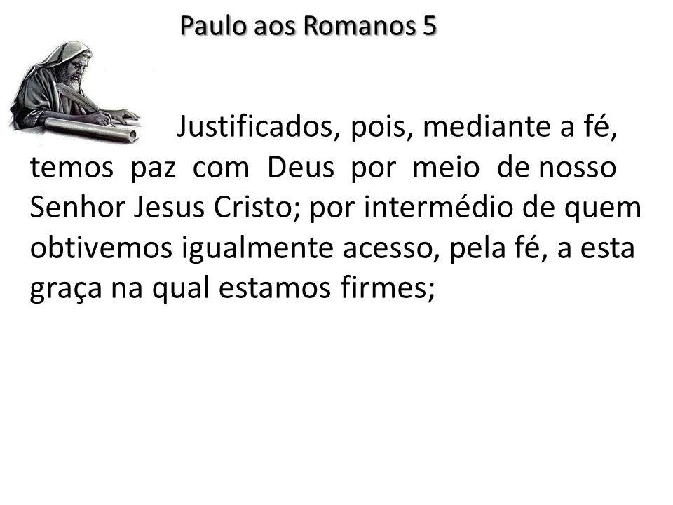 Paulo aos Romanos 5