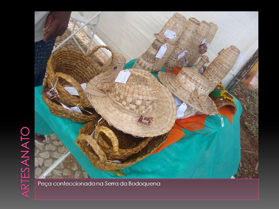 Artesanato Peça confeccionada na Serra da Bodoquena