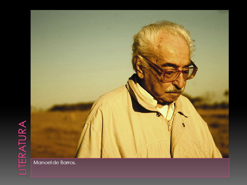 literatura Manoel de Barros.