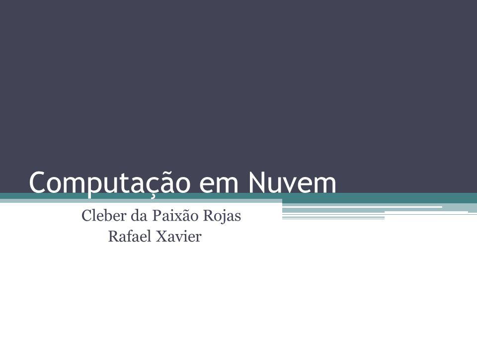 Cleber da Paixão Rojas Rafael Xavier