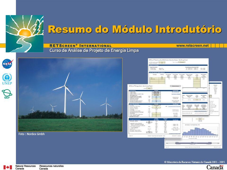 Curso de Análise de Projeto de Energia Limpa