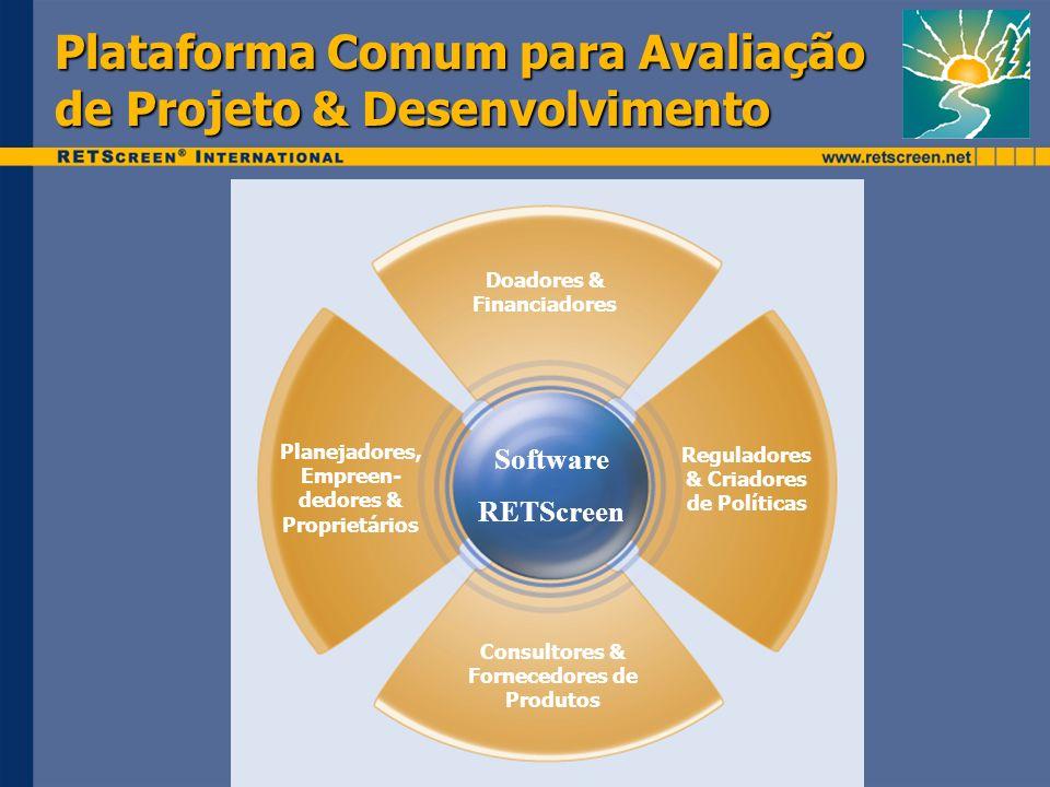 Plataforma Comum para Avaliação de Projeto & Desenvolvimento