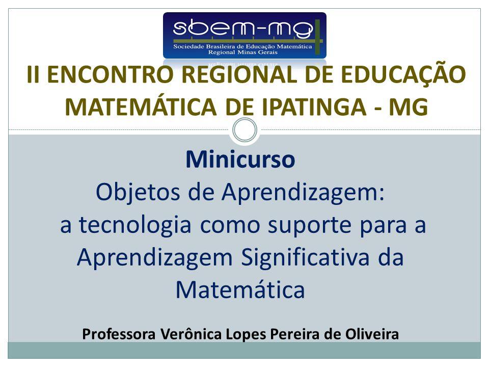 Professora Verônica Lopes Pereira de Oliveira