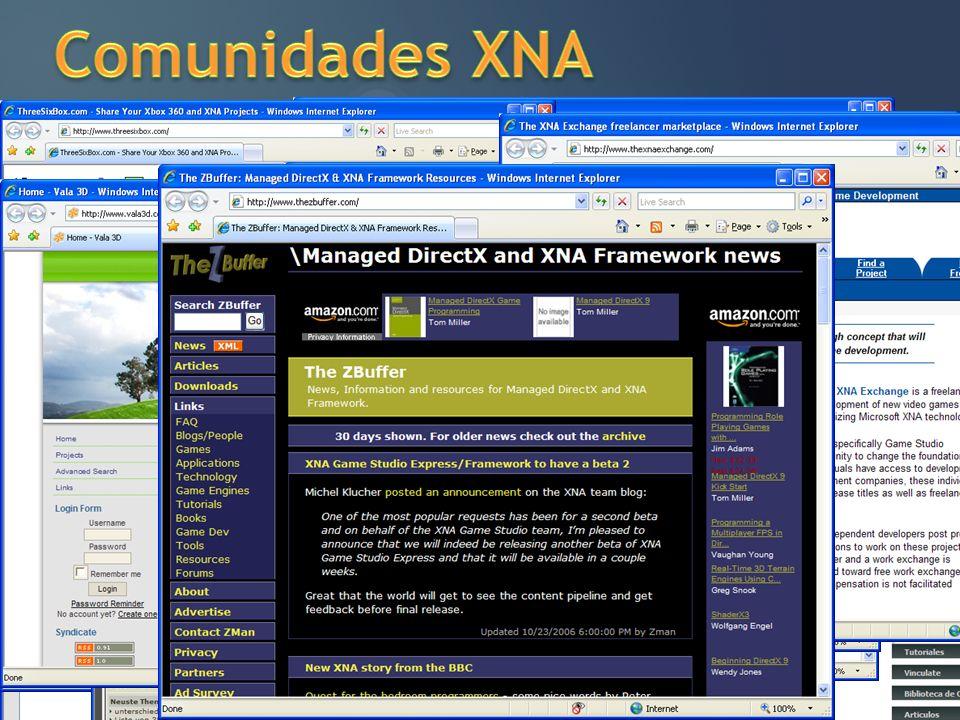 Comunidades XNA