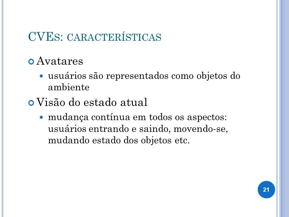 CVEs: características
