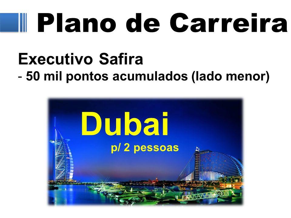 Dubai Plano de Carreira Executivo Safira