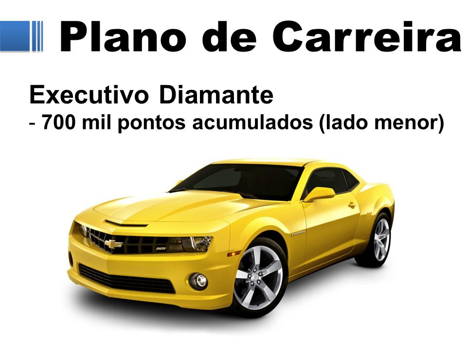 Plano de Carreira Executivo Diamante