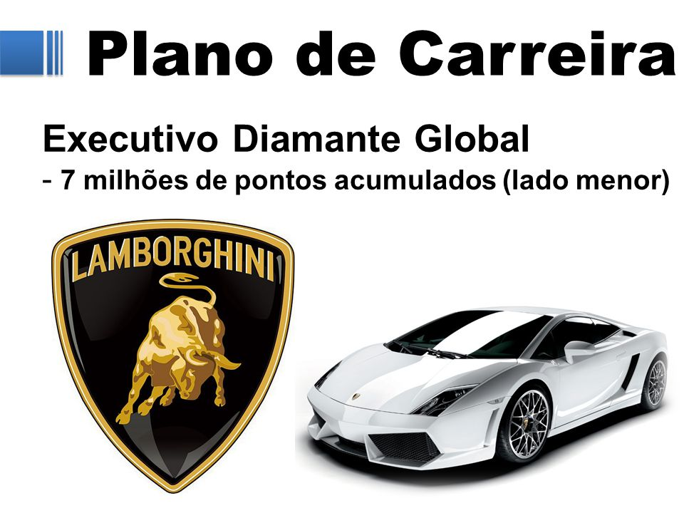 Plano de Carreira Executivo Diamante Global