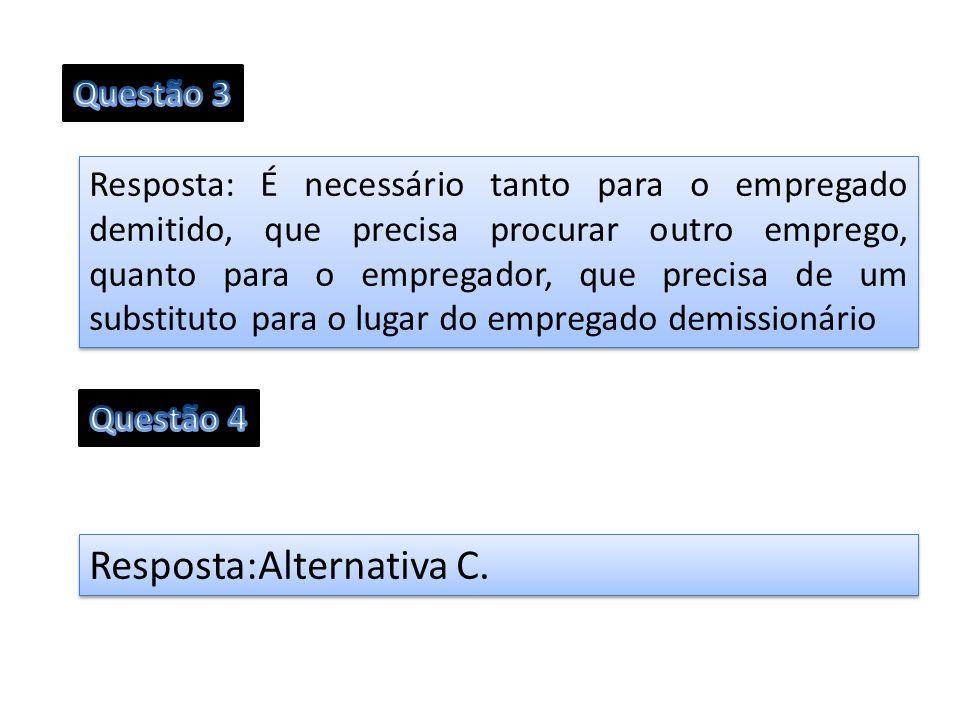 Resposta:Alternativa C.