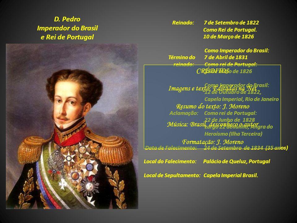 D. Pedro Imperador do Brasil e Rei de Portugal
