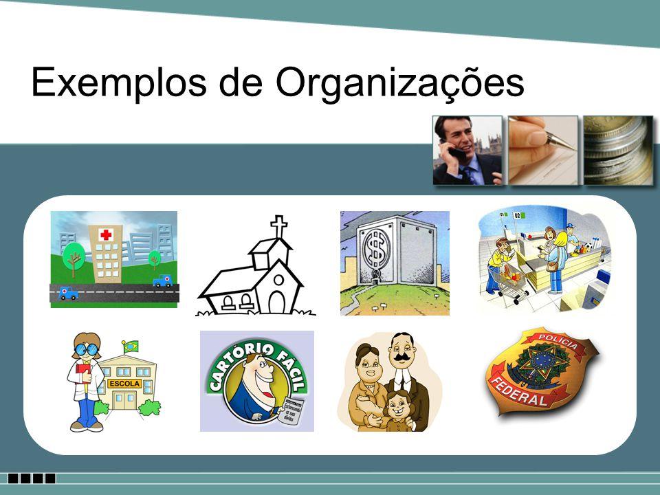 Exemplos de Organizações