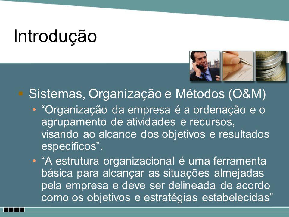 Introdução Sistemas, Organização e Métodos (O&M)