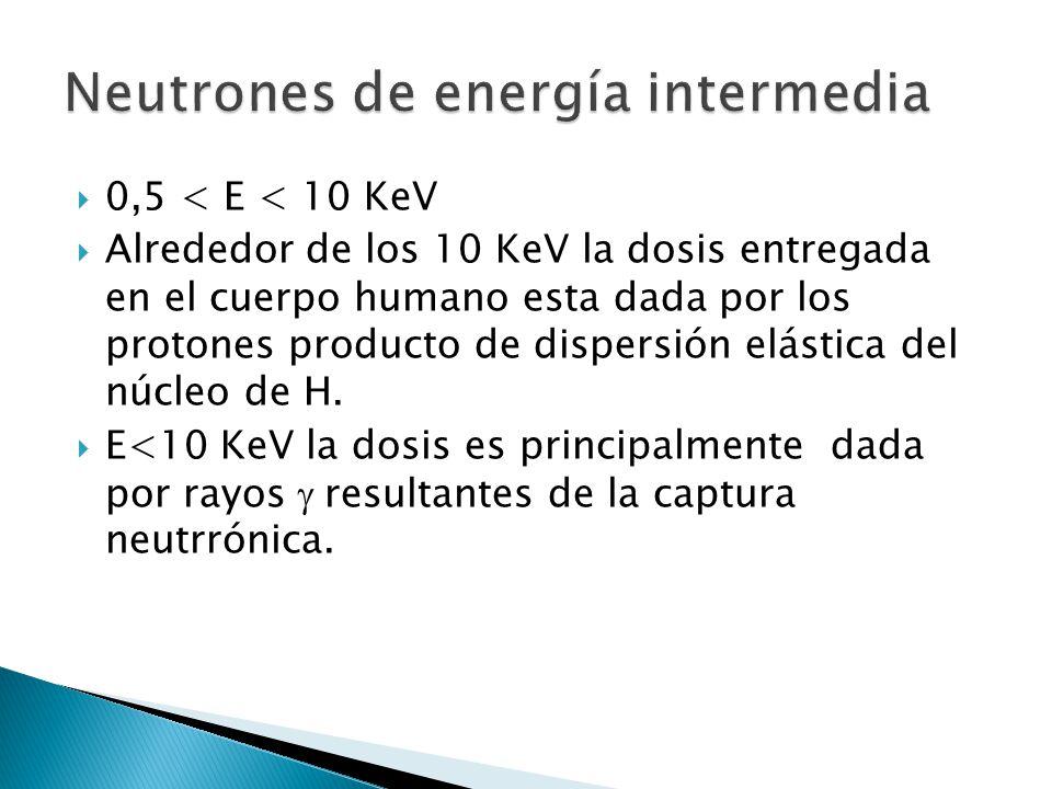 Neutrones de energía intermedia