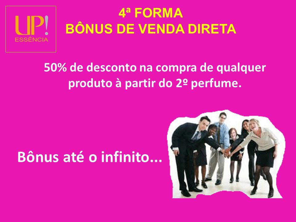 4ª FORMA BÔNUS DE VENDA DIRETA