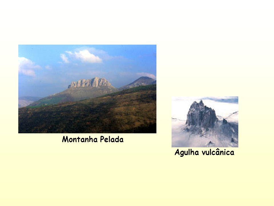 Montanha Pelada Agulha vulcânica