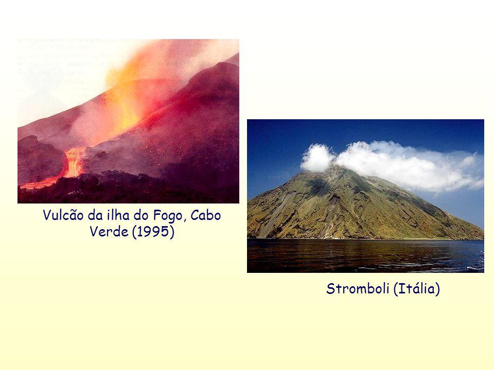 Vulcão da ilha do Fogo, Cabo Verde (1995)