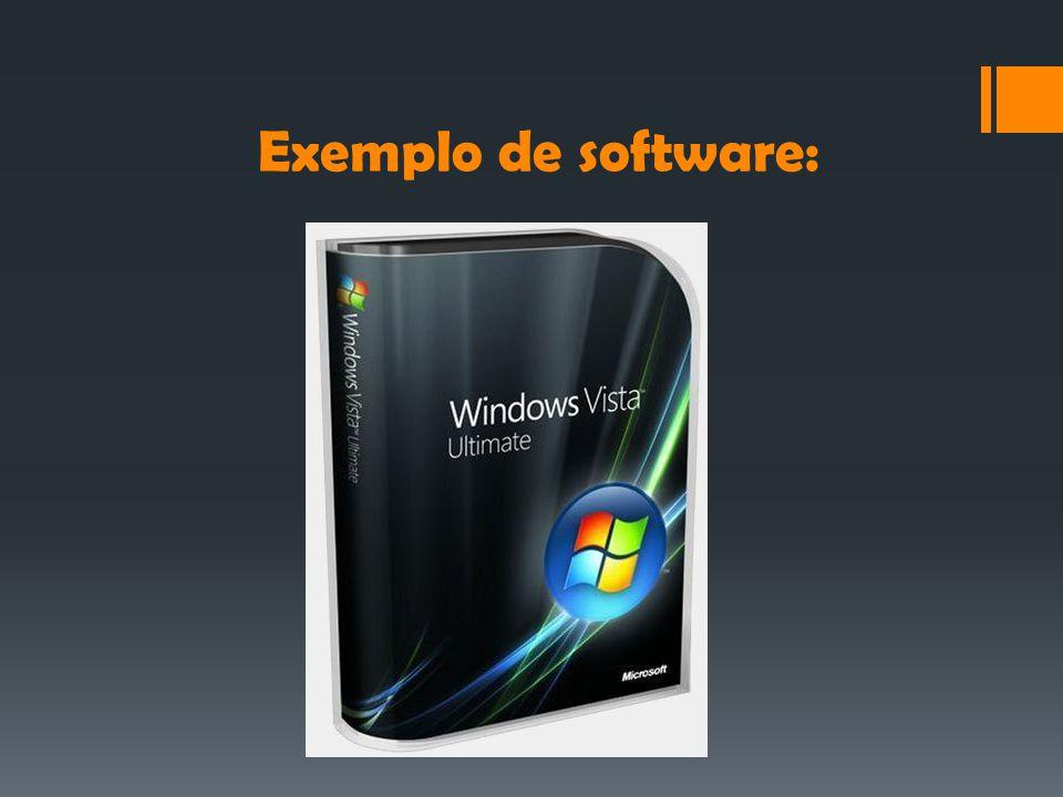 Exemplo de software: