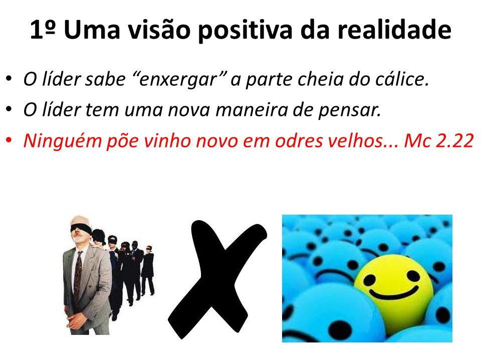 1º Uma visão positiva da realidade